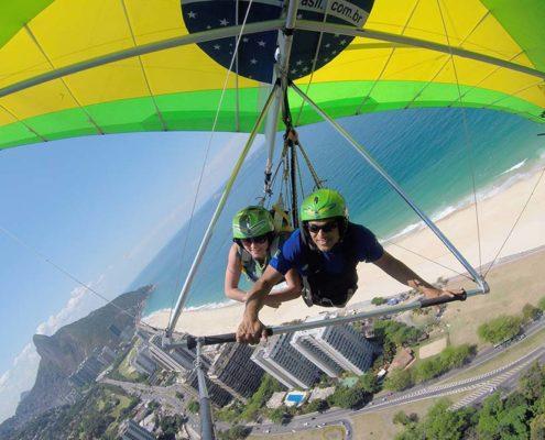 Voo de Asadelta no Rio de Janeiro