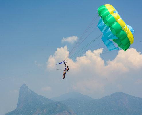 Parasailing in Rio de Janeiro