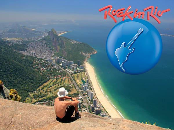Trilha Pedra da Gávea no Rock in Rio